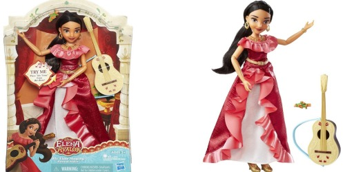 Amazon: Disney Princess My Time Singing Elena of Avalor Doll Only $9.89 (Regularly $29.99)