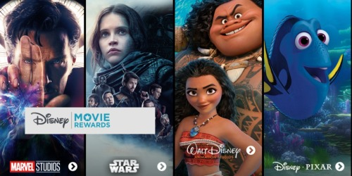 Disney Movie Rewards: Add 15 More Points