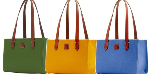 Dooney & Bourke: Up to $149 Off Select Carryalls = Small Shopper ONLY $99 Shipped (Regularly $248)