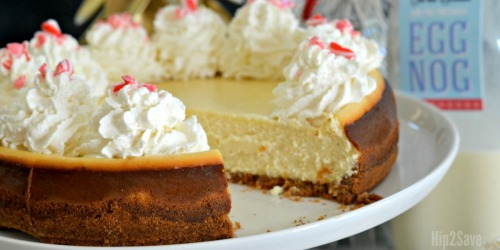 Eggnog Cheesecake (Make-Ahead Christmas Dessert Idea)