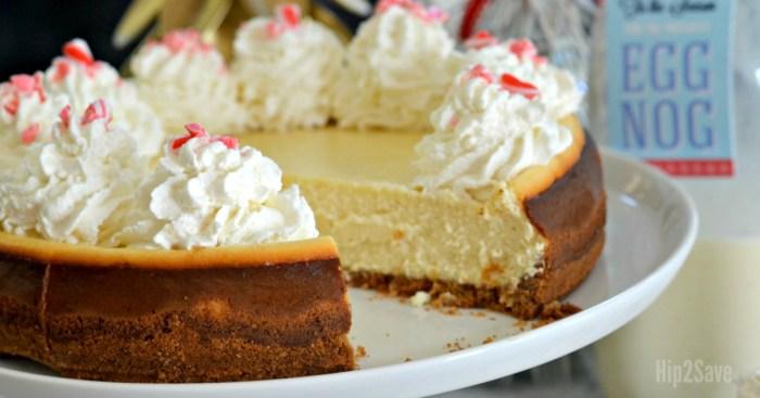 Eggnog Cheesecake (Make-Ahead Christmas Dessert Idea)
