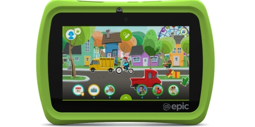 Amazon: LeapFrog Epic 7″ Android-Based Kids Tablet 16GB Only $70.37 Shipped (Regularly $139.99)