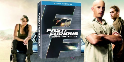 Amazon: Fast & Furious Blu-ray + Digital HD Box Collection Only $16 – Includes 7 Movies