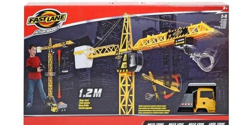 ToysRUs.com: Fast Lane Action Wheels Mega Crane Only $19.99 Shipped (Regularly $39.99)