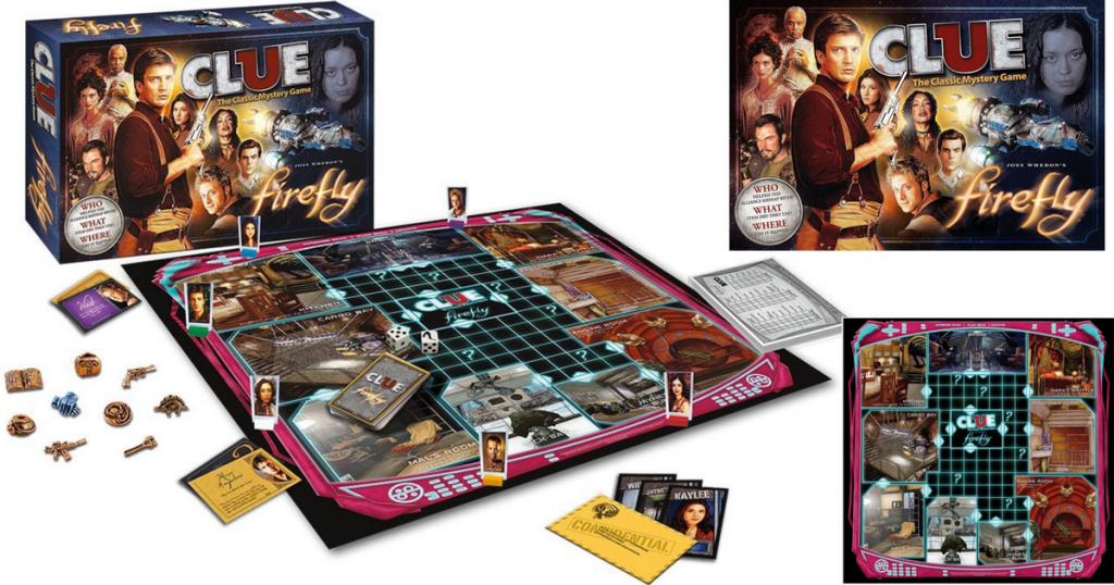 Amazon: Firefly Official Clue Game Only $12 33 (Regularly