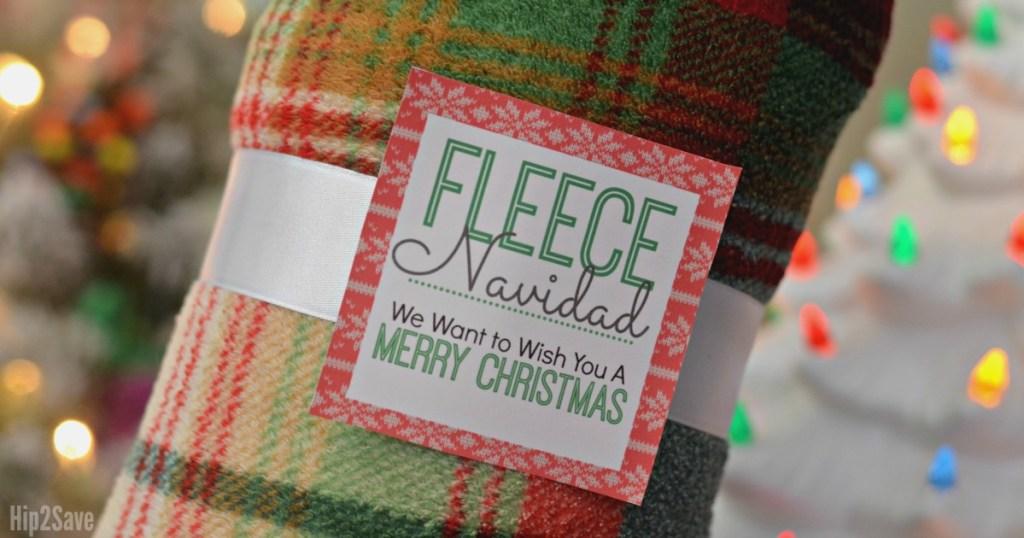 fleece navidad free printable tag