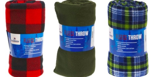 Academy.com: Outdoor Fleece Blankets Only $2.49 (Regularly $3.99) – Great Reviews