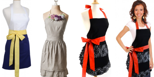Flirty Aprons: 60% Off + Free Shipping = Women's Aprons Only $9.98 Shipped & More!