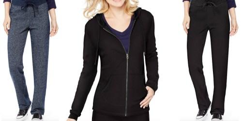 Walmart.com: Women's Hanes French Terry Pants Only $5 (Reg. $9.97) + Hoodie Just $6 (Reg. $13.87)
