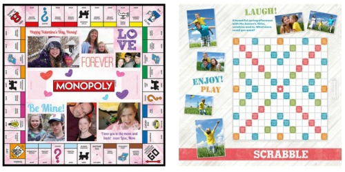 TargetPhoto: Personalized Monopoly or Scrabble Games Only $19.50 (Regularly $49.95)
