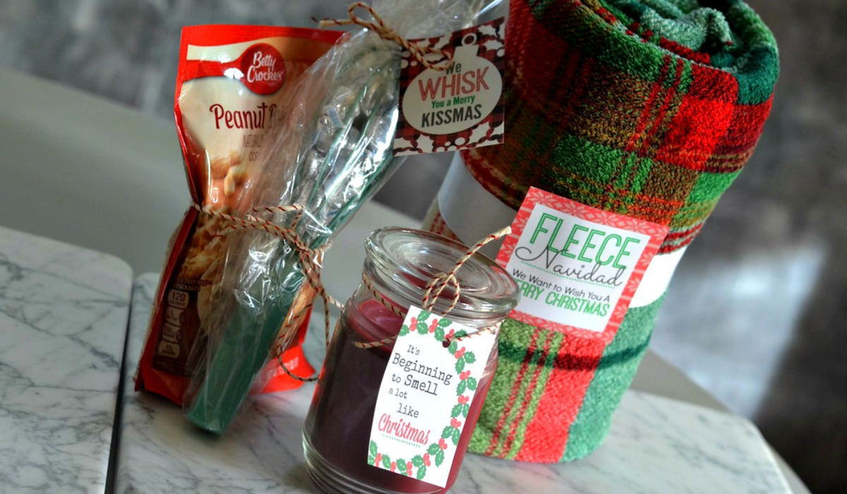 Easy Holiday Gift Ideas with FREE Printable Gift Tags