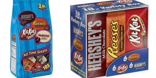 Amazon: Hershey's 105-Count Snack Size Variety Bag Only $7.64 Shipped & More