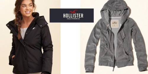 Hollister: $20 Off $60+ Purchase = Fleece-Lined Jacket AND Hoodie $41.97 ($120+ Value)