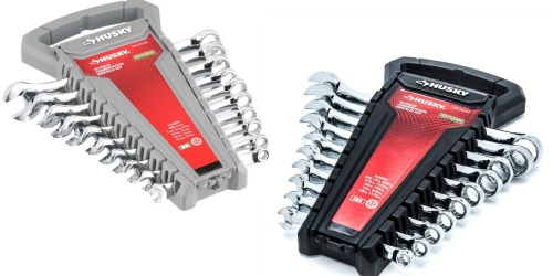 Home Depot: Husky 10-Piece Combination Wrench Sets Only $7 Each