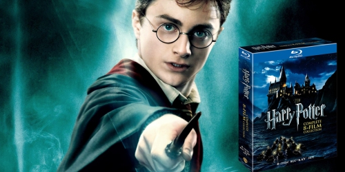 Harry Potter 8-Film Blu-Ray Collection Only $39.99 (Regularly $99.98)