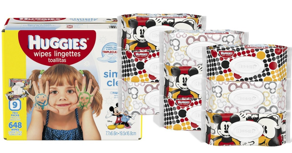 Amazon Huggies Simply Clean Wipes 648 Count Only 8 28