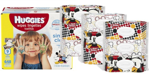 Amazon: Huggies Simply Clean Wipes 648-Count Only $8.99 Shipped (Just 1¢ Per Wipe)