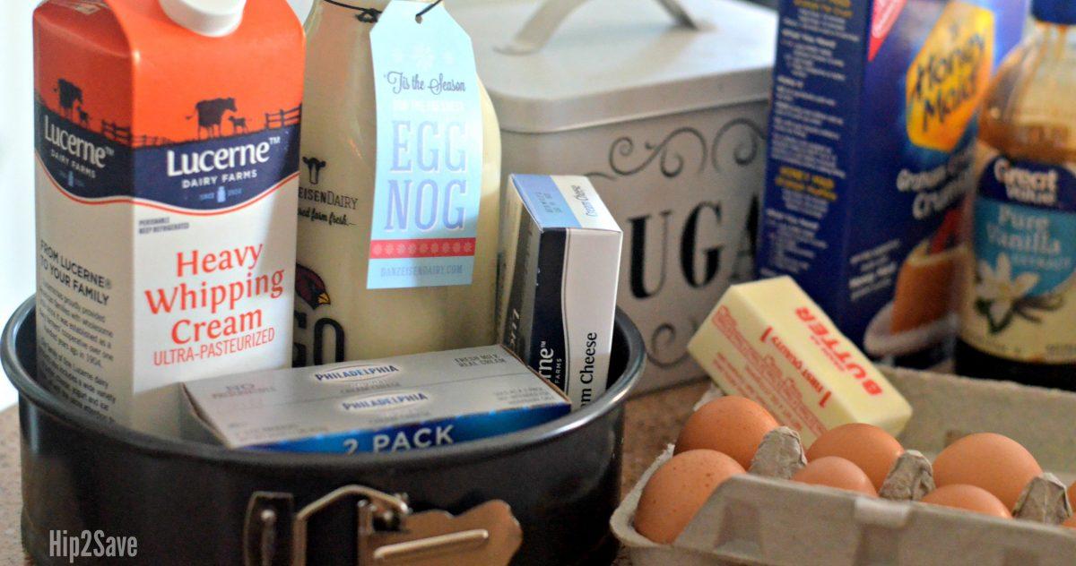 ingredients-for-eggnog-cheesecake