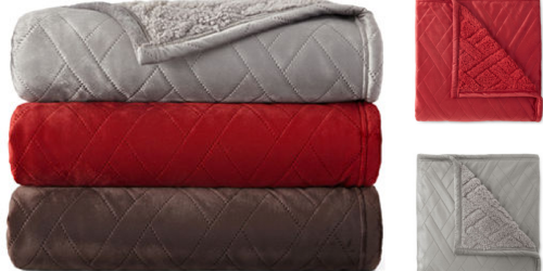 JCPenney: Sherpa Throws Only $10.99 Each (Regularly $40) + More