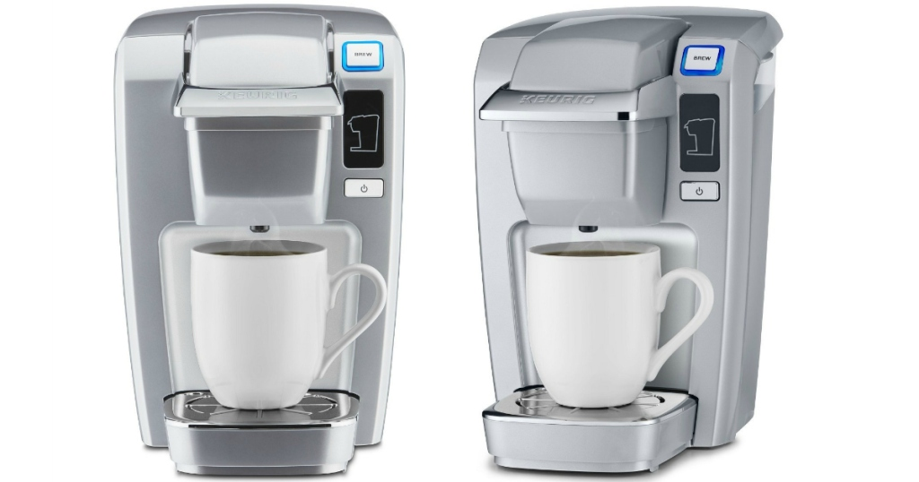 Amazon Keurig K15 Single Serve Compact Brewer In Platinum Only