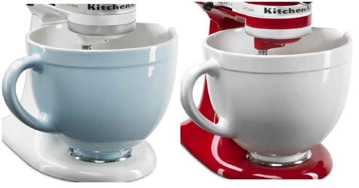 Kitchenaid 5 Quart Stand Mixer Ceramic Mixing Bowl Only
