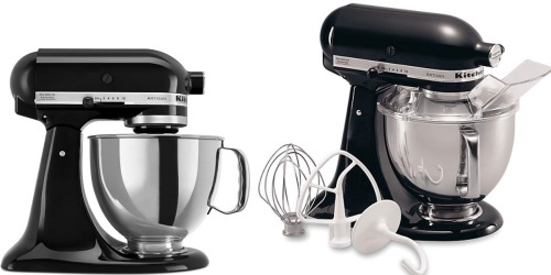 KitchenAid 5-Quart Mixer $157.99 Shipped After Mail-in-Rebate (+ Save on Cuisinart Cooking Set)