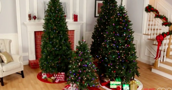 kmart-trees - Over 50% Off Artificial Christmas Trees = 6.5' Pre-Lit Tree W/ 500