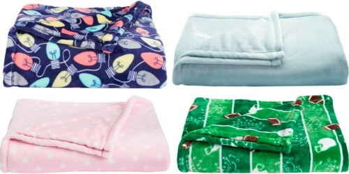 Kohl's Cardholders: The Big One Super Soft Plush Throw Only $11.19 Shipped (Reg. $39.99)