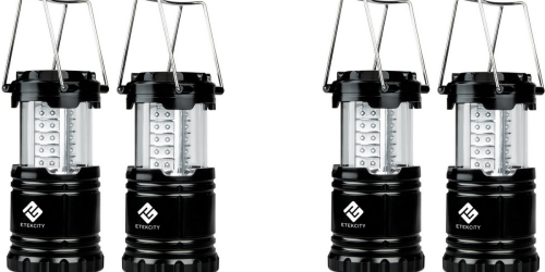 Amazon: LED Camping Lanterns 2-Pack ONLY $11.99 (Regularly $49.99) – Just $6 Each