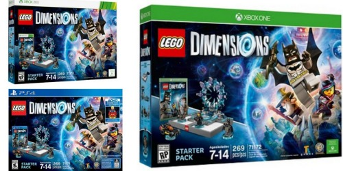 LEGO Dimensions Starter Packs Starting at $19.99 Shipped
