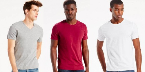 Levis.com: Men's 2-Pack Tees Only $8 Shipped (Regularly $28)