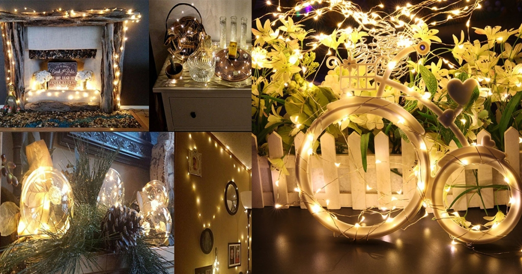 Head on over to Walmart.com and check out these great deals you can score on select Kohree Decorative Lights – great for your home, patio, garden or outdoor ...