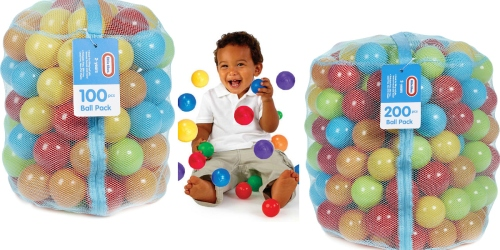 Amazon: 100-Piece Little Tikes Ball Pit Balls Only $9.99 (+ 200-Piece Ball Pack Just $14.99)