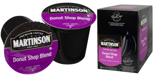 Amazon Prime: Martinson Coffee Donut Shop 24 RealCups Only $7.48 Shipped (Just 31¢ Each)
