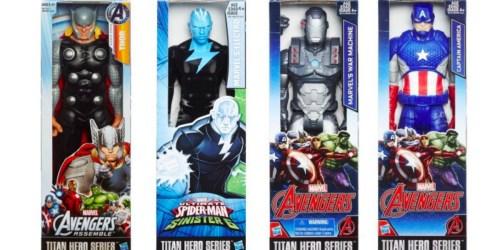 Walmart: Marvel Titan Hero Action Figures Only $4.97