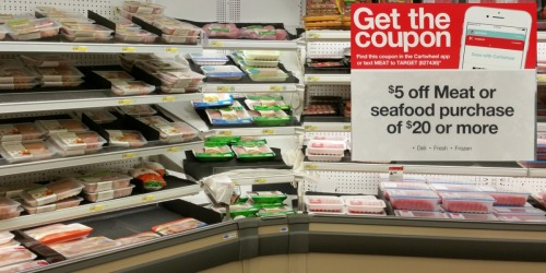Target: Rare $5 Off a $20+ Meat Purchase = Great Deals on Tyson, Hormel, Gorton's & More