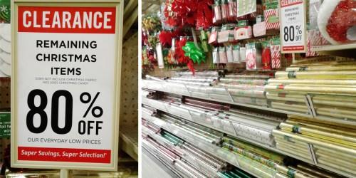 Hobby Lobby: 80% Off Christmas Clearance