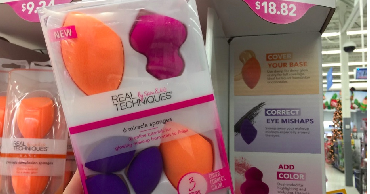 Walmart Real Techniques Miracle Sponge Variety Pack Only