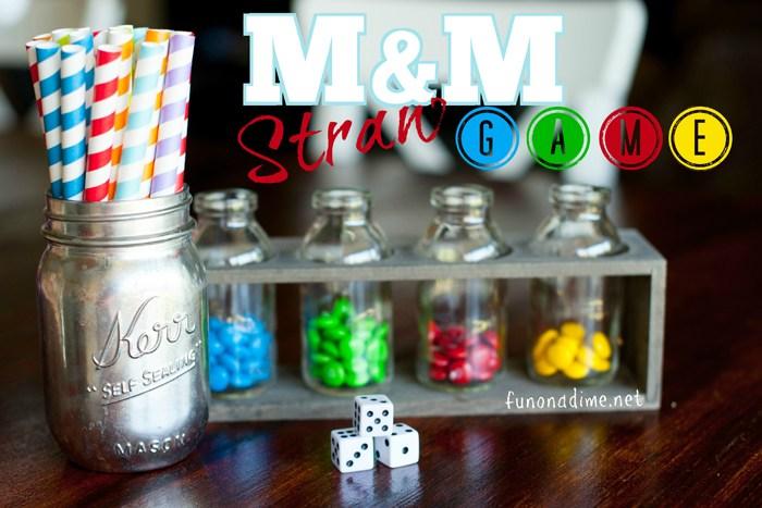 NYE M&M Straw Game