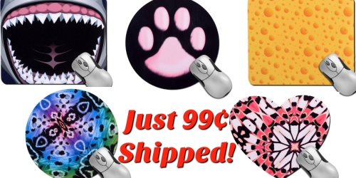 Large Custom Photo Mousepad ONLY 99¢ Shipped