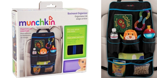 Munchkin Backseat Organizer Only $6.88 – Perfect For Road Trips With Your Kiddos