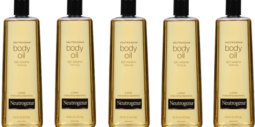 Amazon: Highly Rated Neutrogena Body Oil 16oz Bottle Only $6.30 Shipped