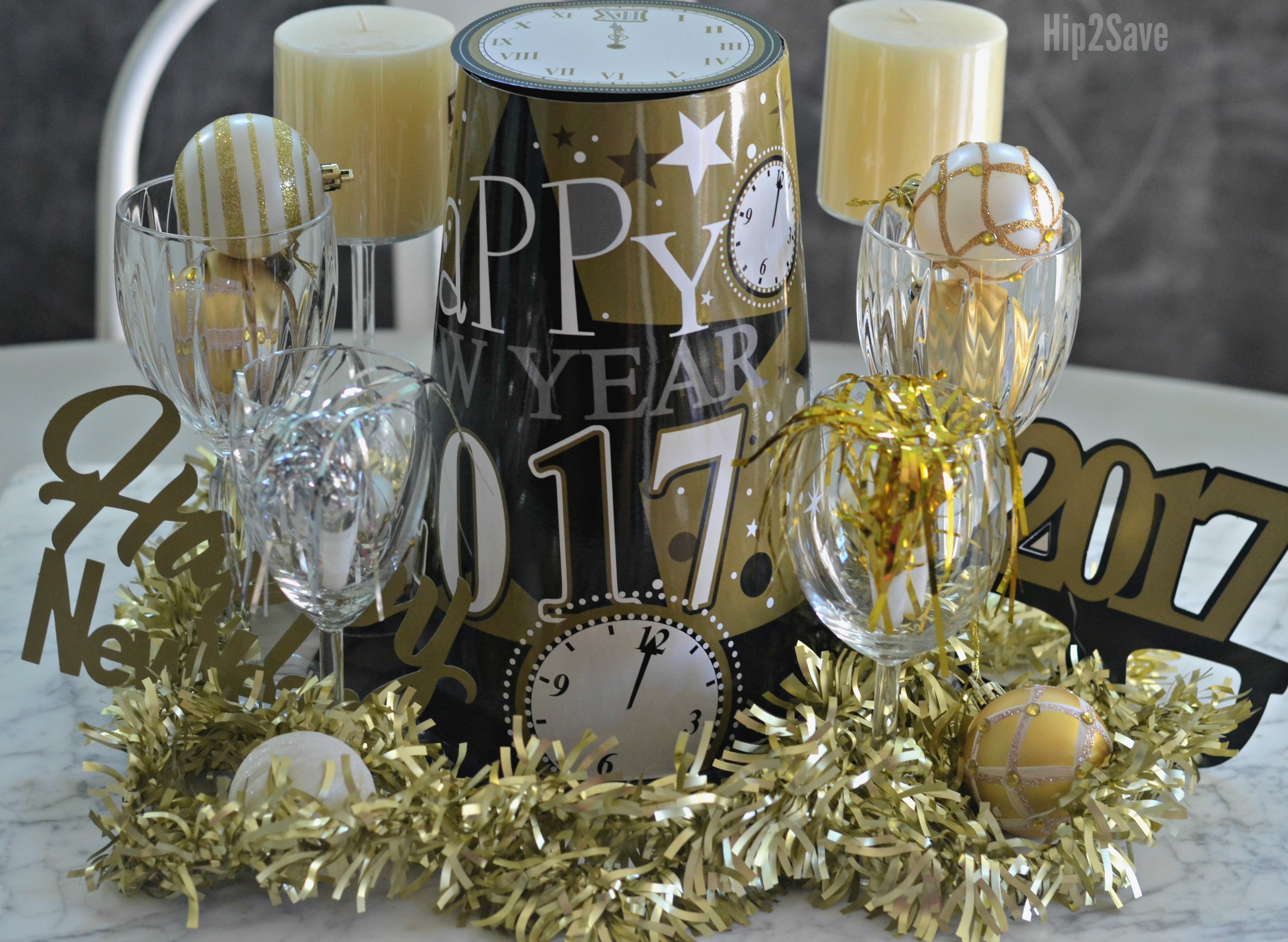 new-years-centerpiece-from-dollar-store