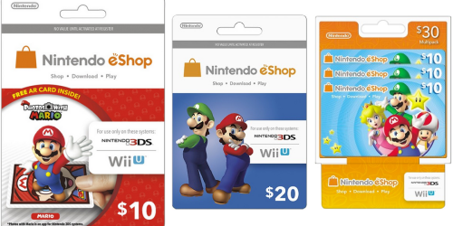 Best Buy: 15% Off Nintendo eShop Prepaid Cards = $10 Card Only $8.50 & More