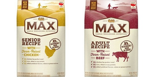 Amazon: 20% Off NUTRO MAX Natural Adult Dry Dog Food