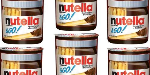 Rare $1/2 Nutella & Go! Single Packs Coupon = Only 50¢ Each at Target (Great Stocking Stuffers)