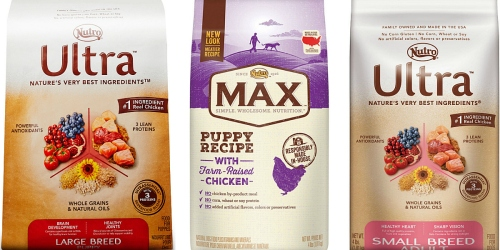Print $65 in *HOT* Nutro Dry Dog Food Coupons = 4lb Nutro Max Bags As Low As Only $2.19 at Petco