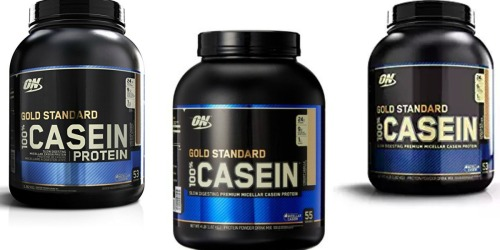 Amazon: Optimum Nutrition Casein Protein 4 Pound Container Only $35.50 Shipped (Regularly $47.34)