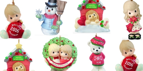 Amazon: Precious Moments 2016 Porcelain Ornaments As Low As $8.99 (Regularly $25.99)