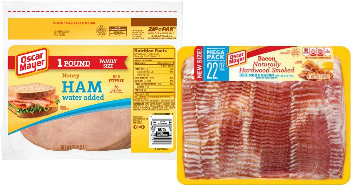 Shoppers! Save on Oscar Mayer Bacon